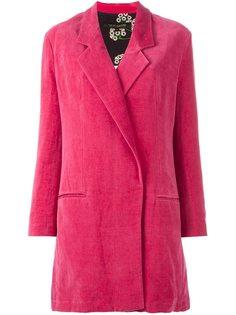 однобортное пальто  Ter Et Bantine