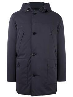пальто-пуховик с капюшоном Woolrich