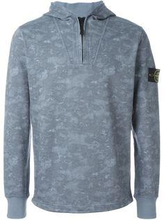 свитер с капюшоном Stone Island