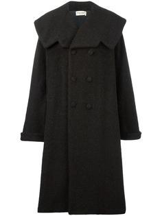 пальто свободного кроя из искусственного меха Comme Des Garçons Vintage