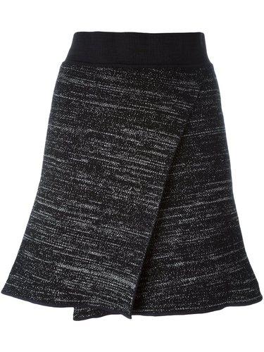 трикотажная юбка с запахом Isabel Marant