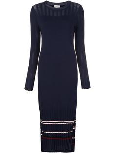 knitted midi dress Grey Jason Wu