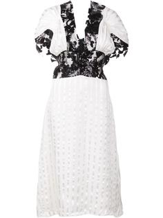lace insert dress Rodarte