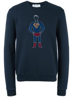 толстовка с вышивкой 'Superman' Jimi Roos
