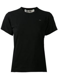 футболка с вышитым логотипом в виде сердца Comme Des Garçons Play