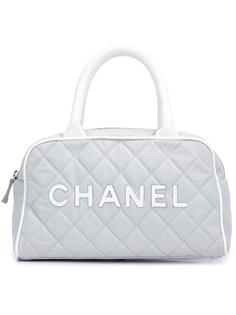 спортивная сумка 'Boston' Chanel Vintage