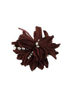 брошь-цветок с отделкой Erika Cavallini