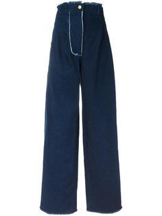 широкие джинсы с завышенной талией Natasha Zinko