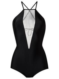 panelled swimsuit Giuliana Romanno