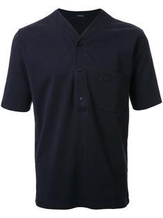футболка с V-образным вырезом Lemaire