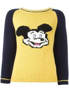 джемпер с принтом-интарсией 'Mickey' Dondup