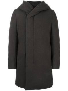 пальто-пуховик с капюшоном Attachment