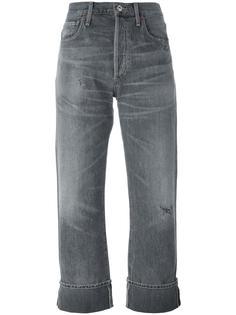 укороченные джинсы-бойфренды Citizens Of Humanity