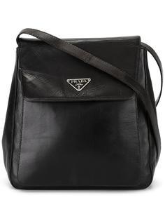 сумка на плечо с откидным клапаном Prada Vintage