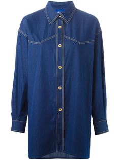 джинсовая рубашка  Guy Laroche Vintage
