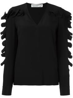 блузка с оборками Victoria Victoria Beckham