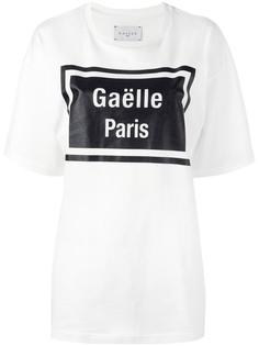 футболка с принтом 'Gaelle Paris' Gaelle Bonheur