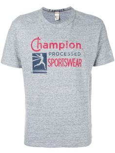 футболка с принтом логотипа Champion