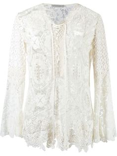 lace tunic Martha Medeiros