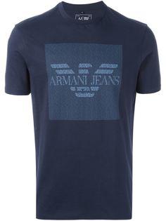 Купить мужские футболки с принтом Armani Jeans в интернет-магазине ... dc4819eb3e3