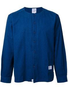 джинсовая рубашка без воротника Bedwin & The Heartbreakers