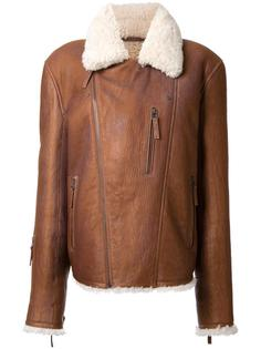 куртка из овчины Yves Salomon Homme