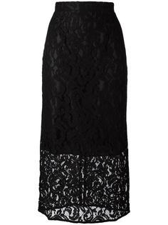 юбка длины миди с цветочным узором Gaelle Bonheur