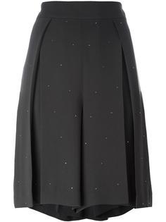 широкие плиссированные шорты Muveil