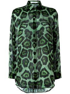 блузка с леопардовым принтом  Givenchy