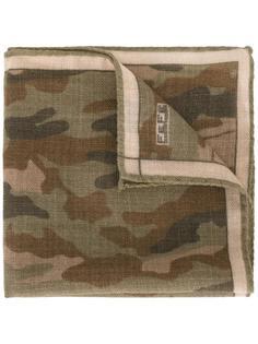 нагрудный платок с камуфляжным принтом Fefè