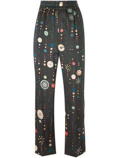 брюки прямого кроя  Isabel Marant