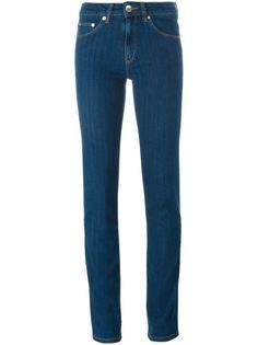джинсы с вышивкой  Love Moschino