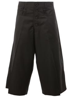 pleated detailing cropped trousers Christopher Nemeth