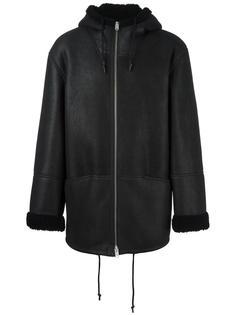 hooded leather coat  Yeezy