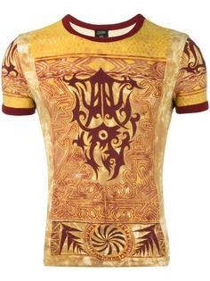 футболка с этническим принтом  Jean Paul Gaultier Vintage