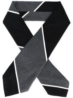 полосатый шарф-галстук Thom Browne