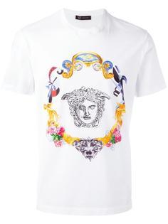 футболка с вышивкой Versace
