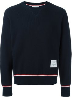 свитер ребристой вязки Thom Browne