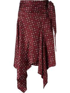 юбка с запахом 'Treva' Isabel Marant