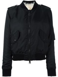 куртка бомбер с эполетами As65