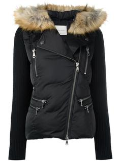 куртка-пуховик со съемным капюшоном Pierre Balmain