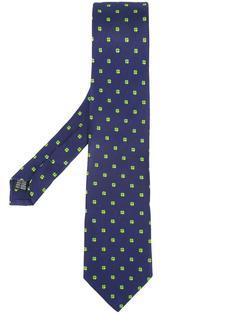 галстук с принтом четырехлистника Fefè