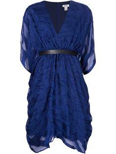 платье с V-образным вырезом Issa