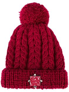 шапка с помпоном 'Eshvi x 711' Eshvi
