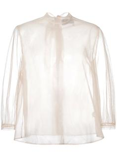 прозрачная блузка Simone Rocha