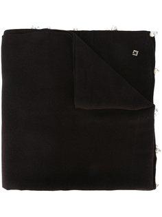 шарф с жемчужными деталями Twin-Set