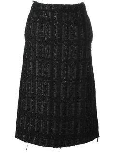 юбка  миди с люрексом Simone Rocha