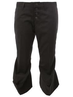 flared hem cropped trousers Christopher Nemeth