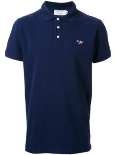 рубашка-поло с логотипом Maison Kitsuné