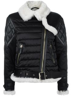 байкерская куртка Burberry